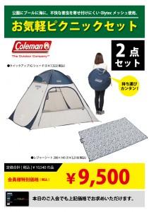 コールマン_お気軽ピクニックセット