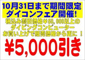 ダイコン5000